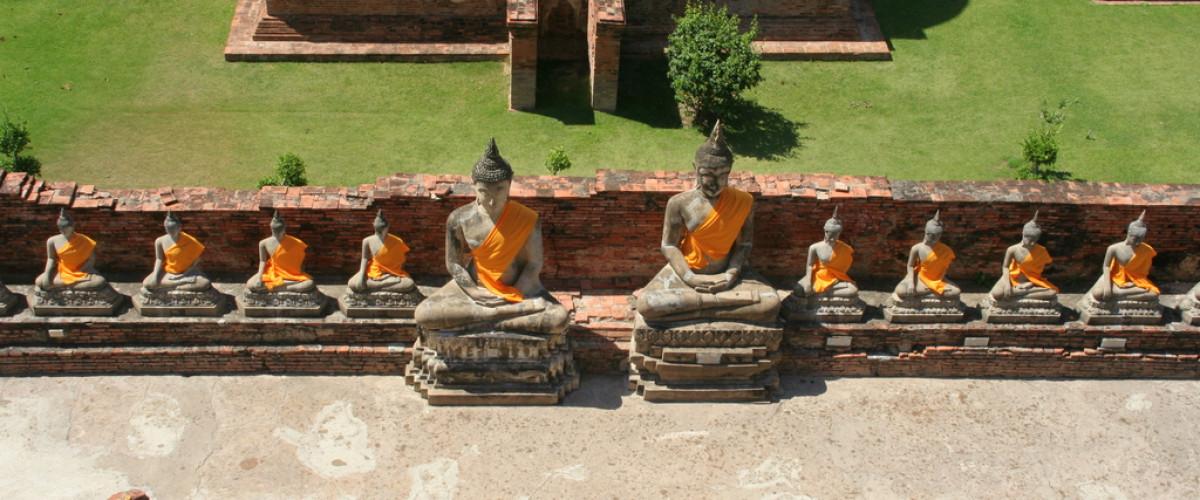 Közép-Thaiföld kincsei